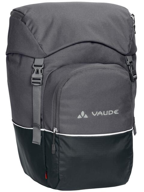 VAUDE Road Master - Sac porte-bagages - Front gris/noir